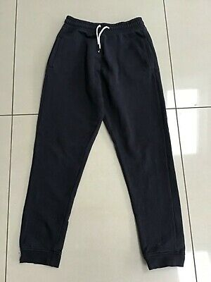 Boys Navy Tracksuit Bottoms Joggers by Next Size 12 Years