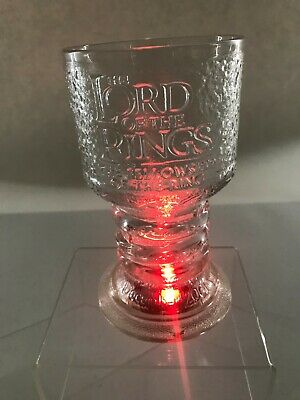 LORD OF THE RINGS GLASS GOBLETS COLLECTION ARWEN