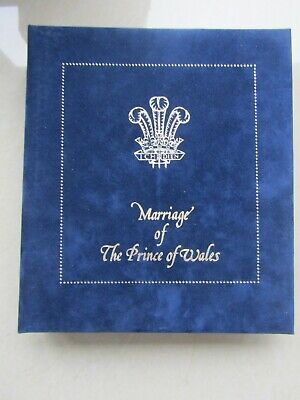 Marriage Of Prince Of Wales Lady Diana Album 1981 Only 3000 Worldwide Mega Rare