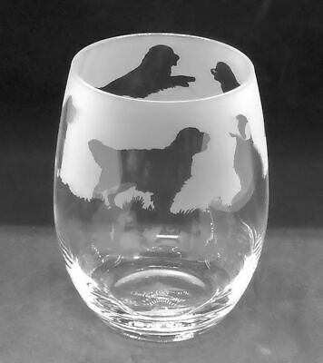 Golden Retriever Wine Glasses by Glass in the Forest..Boxed