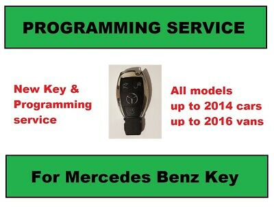 Mercedes Key Programming service