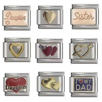Italian Charm fits Classic Nomination 9mm Charm Bracelets Various designs