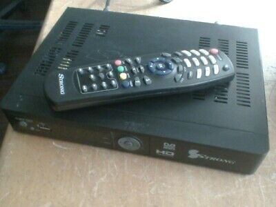 STRONG HD SET TOP BOX for tv with remote control hdmi composite audio and video