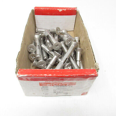 Qty-48 ITW Red Head Stainless Steel Dynabolt Sleeve Anchor 3/8 x 2-7/8 SFS-3826