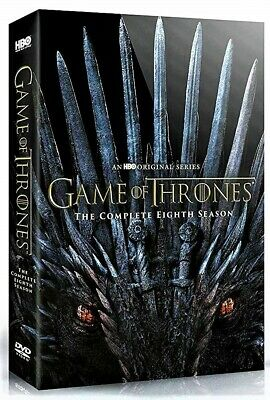 "Game Of Thrones - The Complete 8Th Season (Dvd) ""Sealed"""