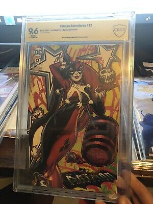 Batman Adventures #12 First Apperance Harley Quinn Cbcs 9.6 Signed Variant DC