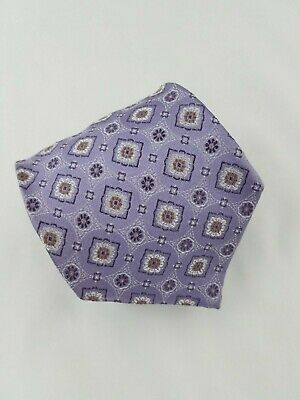 Jos A. Bank Signature Collection Silk Tie Lavender Classic Italy L 59.5 x W 3.5