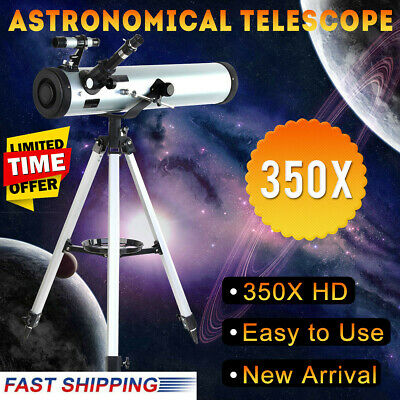Pro Seben Zoom Astronomical Telescope Enlarge Star Space Reflector 76 - 700mm AU