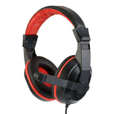 3X(3.5Mm Top Quality Adjustable Game Gaming Headphones Stereo Type Noise-Cance F