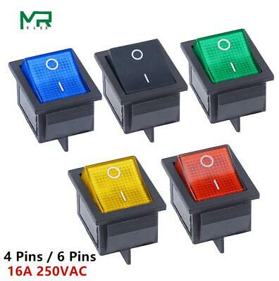 KCD4 Rocker Switch ON-OFF 2 Position 4 Pins / 6 Pins  Electrical equipment