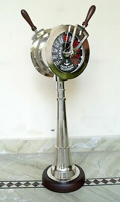 Nautical Marine Ship Engine Room Telegraph Beautiful Chrome XMAS Gift Item