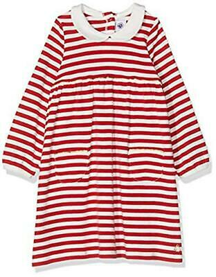 (TG. 18-24 mesi) Petit Bateau Robes ML Vestito, Multicolore (Terkuit/Marshmallow
