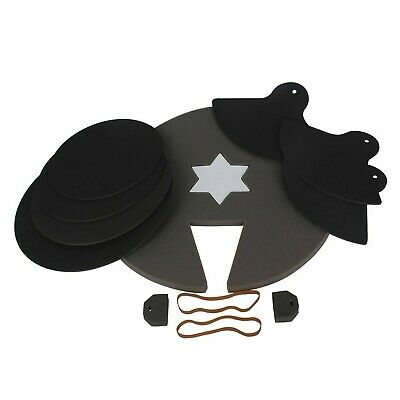 Drum Mutes, Rubber Pad Mute Silencer for Drum Kit Practice with Cymbal Mutes ...