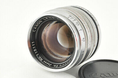 *Excellent* Canon 50mm f/1.8 Lens Leica L39 LTM from Japan #3800