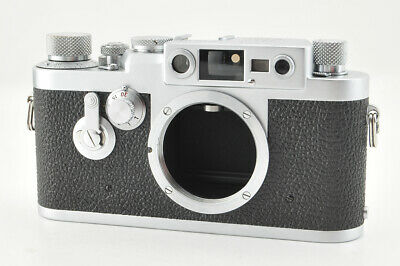 *Excellent* Leica IIIg 35mm Rangefinder Camera w/ Leather Case from Japan #3694