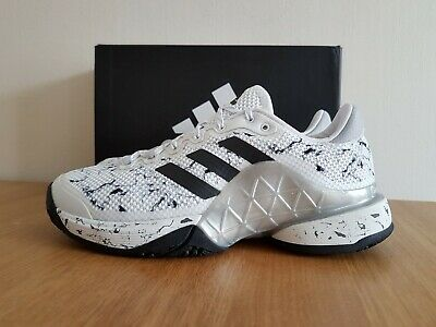 Adidas Mens Barricade 2017 OC Tennis Shoes BY1633 UK 6.5, 11.5