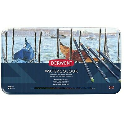 Derwent Watercolour Pencils, Set of 72, Professional Quality, 32889, Multicol...