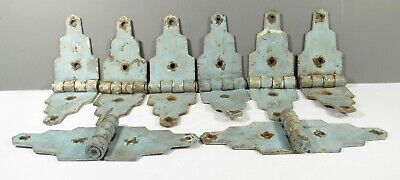 Small Little Tiny Hinges Antique Rusty Finish Jewelry Box Hinges Lot of 24
