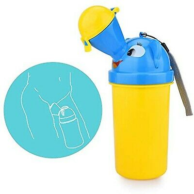 Portable Baby Child Potty Urinal Reusable Pee Training Cup Emergency Toilet f...