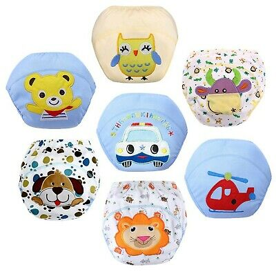 Z-Chen Baby Boys Underwear Potty Training Pants Reusable Pack of 7, 2-3 Years
