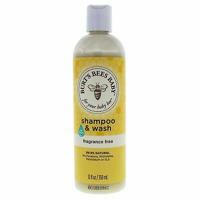 Burt's Bees Baby Shampoo and Wash Fragrance Free