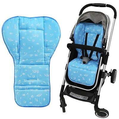 NEWSTYLE Baby Seat Liner,Reversible Pure Cotton Universal Baby Stroller Seat ...