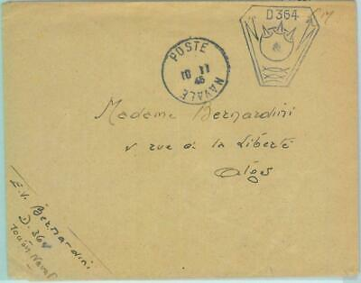 87301 - FRANCE - POSTAL HISTORY - COVER to ALGERIA with French NAVY postmark