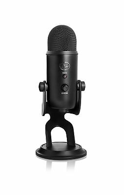 Blue Microphones Yeti USB Microphone - Blackout Edition Mic Only