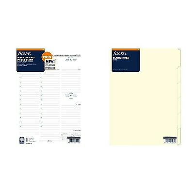 Filofax 19-68714 A4 Week on two Pages Diary 2019