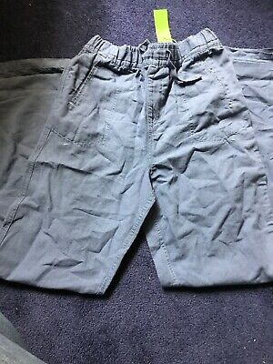 Childs Blue Linen Trousers, Age 12-13, BNWT