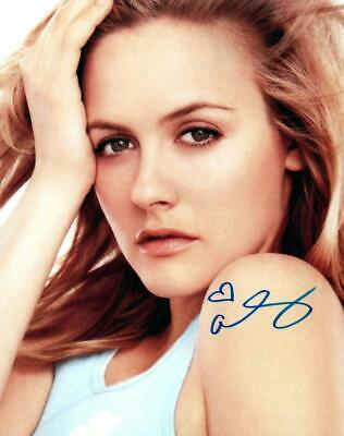 Alicia Silverstone Signed 8x10 Picture Autographed Photo with COA