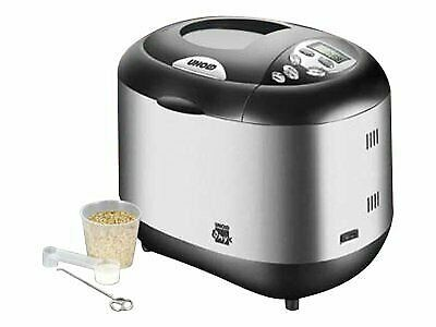 UNOLD BACKMEISTER ONYX Breadmaker 600 W satin stainless steel/black 8695