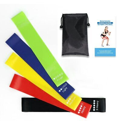 Resistance Bands Set Elastic Rubber Bands For Gum Set Yoga Exercise Gym Workout