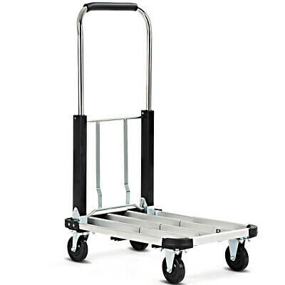 Foldable Platform Truck 330 LBS Hand Truck Cart Extendable Great Quality