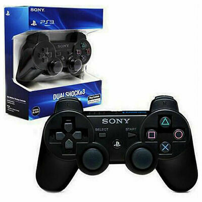 PS3 PlayStation 3 Controller Wireless Sony Dual Shock 3 PS3 Game Pad Sealed Box