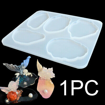 Cloud Shape Silicone Resin Mold Epoxy Mold Making Coaster Pendant Bowl Mat UK