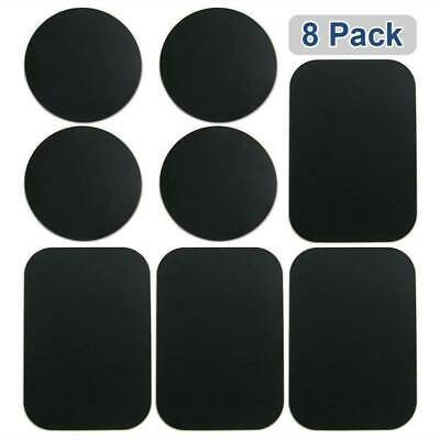 8-Pack Universal Metal Plate Disc For Car Holder Magnetic Phone Mount Sticker