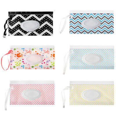 Supplies Clamshell Napkin Storage Box Cosmetic Pouch Wipes Case Wet Wipes Bag