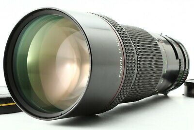 【MINT】 Canon New FD 300mm F4 L NFD Telephoto MF Lens For FD Mount From Japan 99