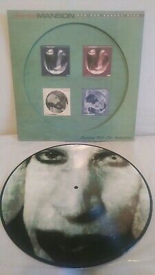 Marilyn Manson~ Dancing With the AntiChrist Pic disc 2002 UK LP EW0012LPP EX/EX