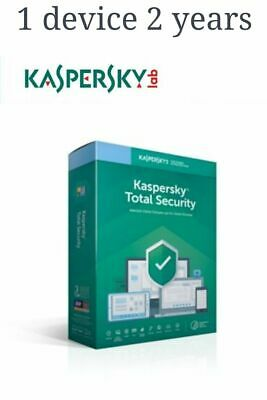 KASPERSKY TOTAL SECURITY  2020 - 2 Year 1 Device GLOBAL KEY