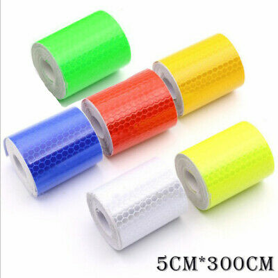 Tape Car Sticker Night Safety Arrow Tape Strip  Self-adhesive Reflective Strips