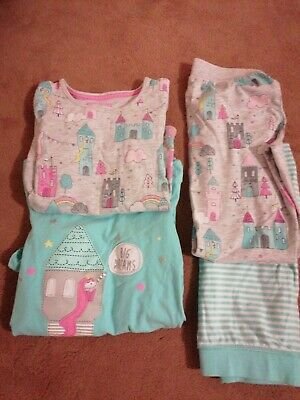 Girls bundles of marks and spencer pyjamas Age 6-7-8