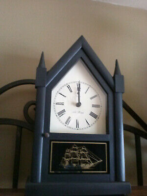 Vtg. Seth Thomas Steeple Cathedral Mantle Clock Works Perfect