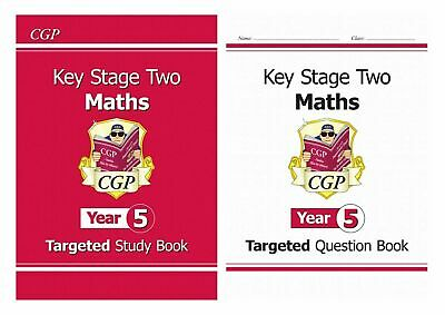 Ks2 Year 5 Maths Revision & Question Book 2 Book Bundle From 2020 Exams