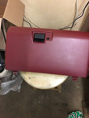 92 93 94 95 96 FORD F150 F250 F350 FUSE BOX LID COVER  F250 RED BRONCO