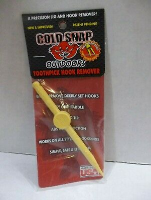 T2 Toothpick JIG SAVER 12 PACK COLDSNAP OUTDOORS HOOK REMOVAL
