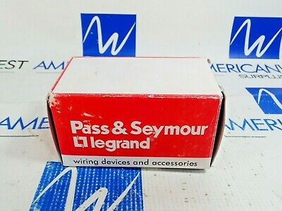 Pass & Seymour 3894 Range Receptacle 50A 125/250V Flush Mount 3P 4W New