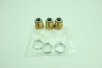 Smc KQ2E16-04A Brass Push-to-connect Fitting 1/2in Npt 16mm Tube Id