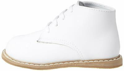 Baby Deer High Top Leather First Walker (Infant/Toddler), White, Size 6.0 DOgO